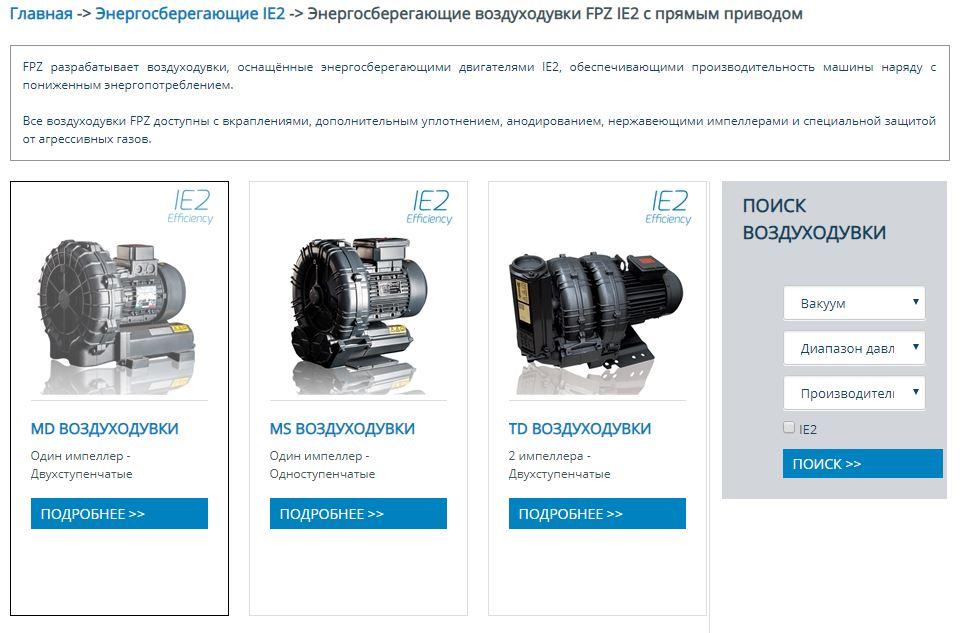 Разработка вебсайта FPZ